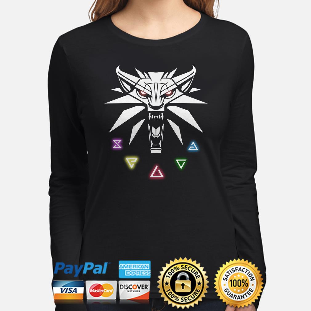 The Witcher Wild Hunt Enamel Pin Long sleeve