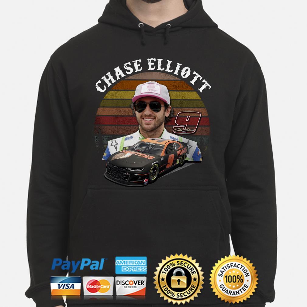 9 Chase Elliott vintage Hoodie