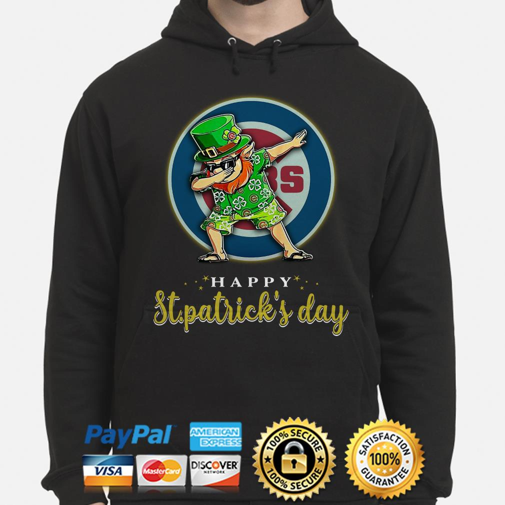 Chicago Cubs Uncle Sam Happy St Patrick's Day Hoodie