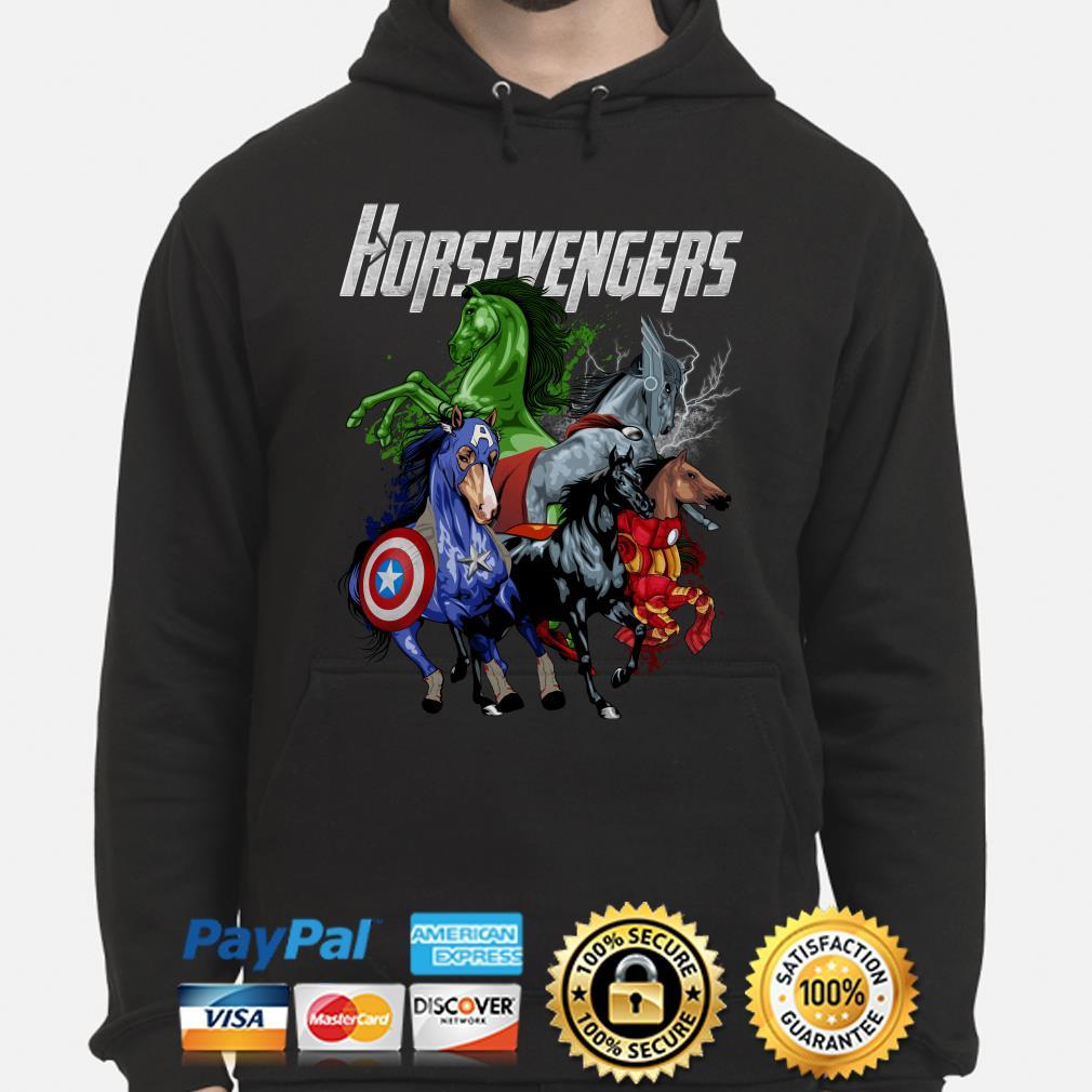 Marvel Avengers Horsevengers Hoodie