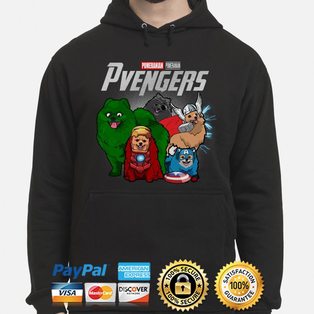 Marvel Avengers Pomeranian Pvengers Hoodie
