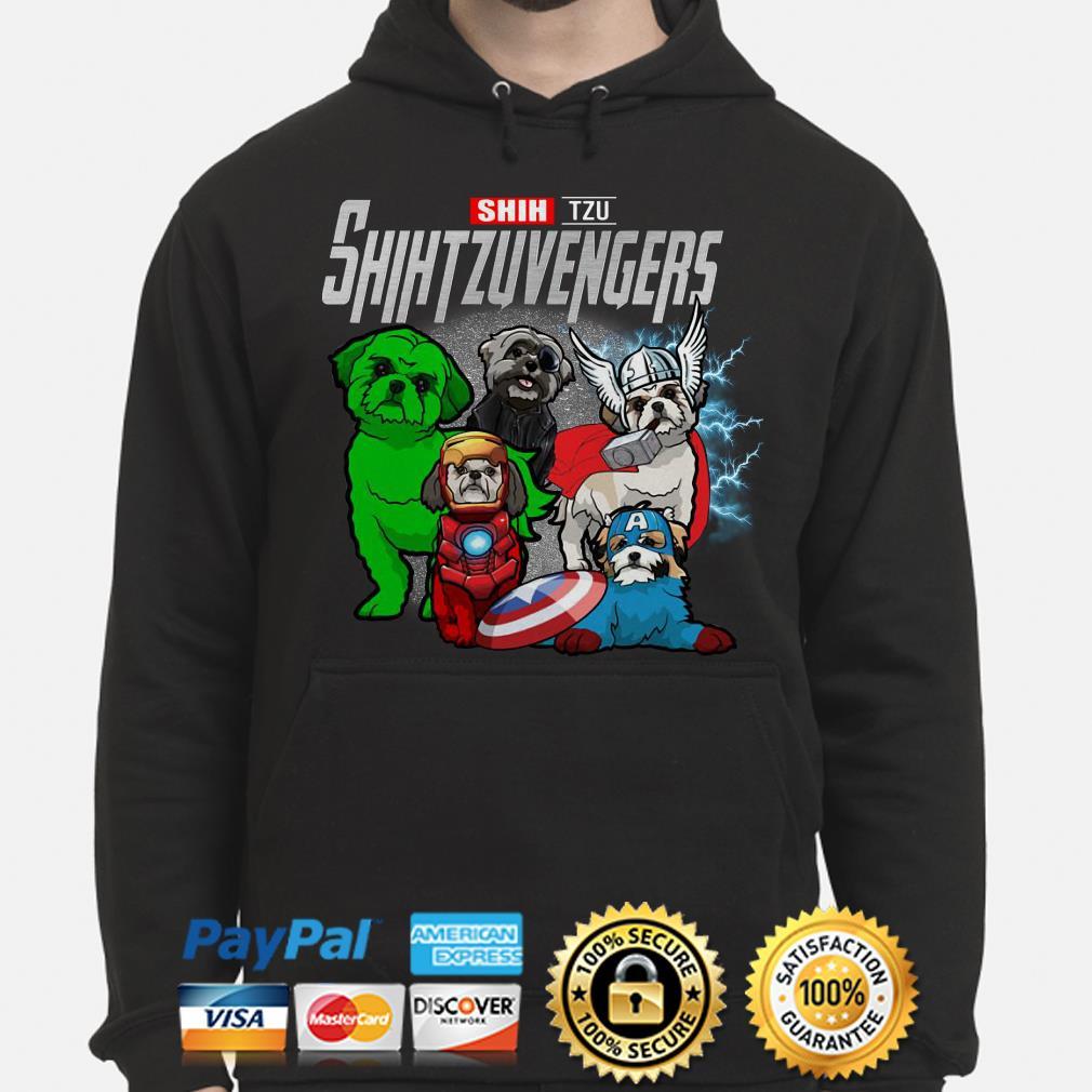 Marvel Avengers Shih tzu Shihtzuvengers Hoodie