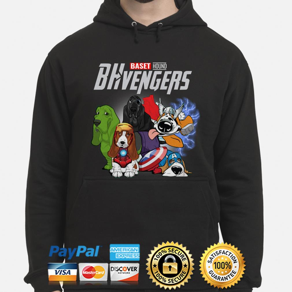 Marvel Avengers Baset Hound BHvengers Hoodie