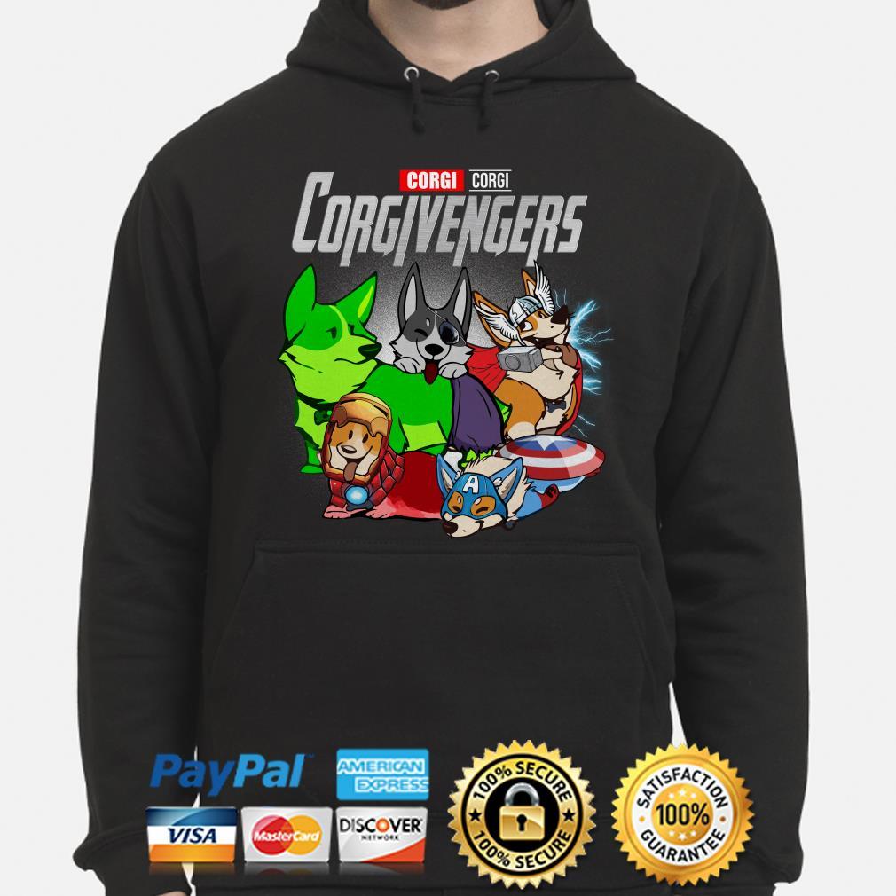 Marvel Avengers Corgivengers Hoodie