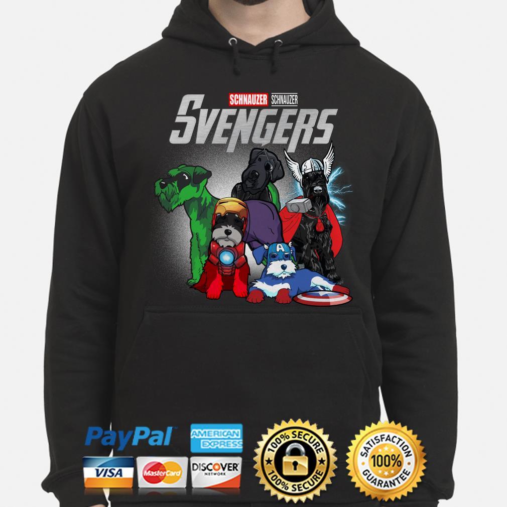 Marvel Avengers Schnauzer Svengers Hoodie