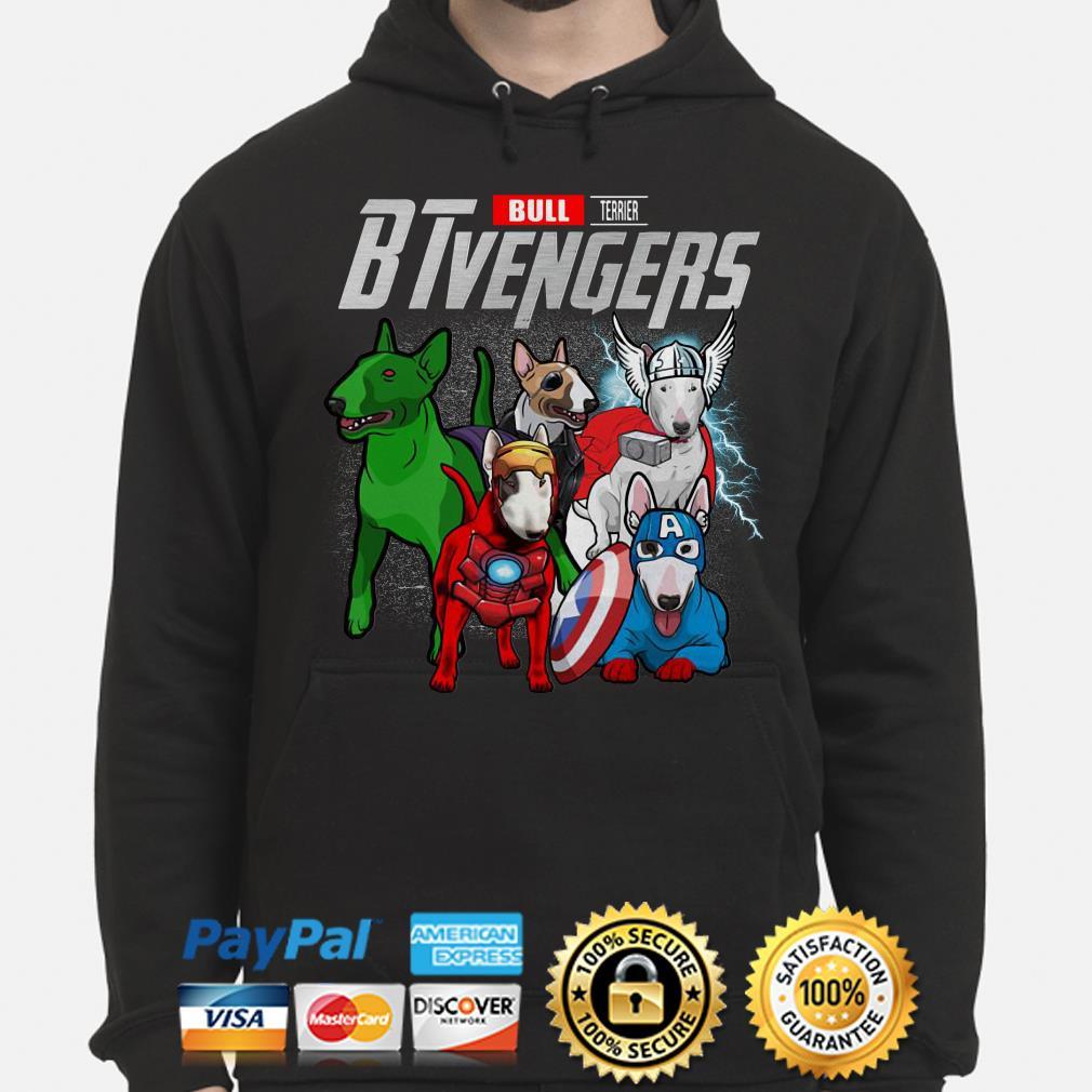 Marvel Bull Terrier BTvengers Hoodie