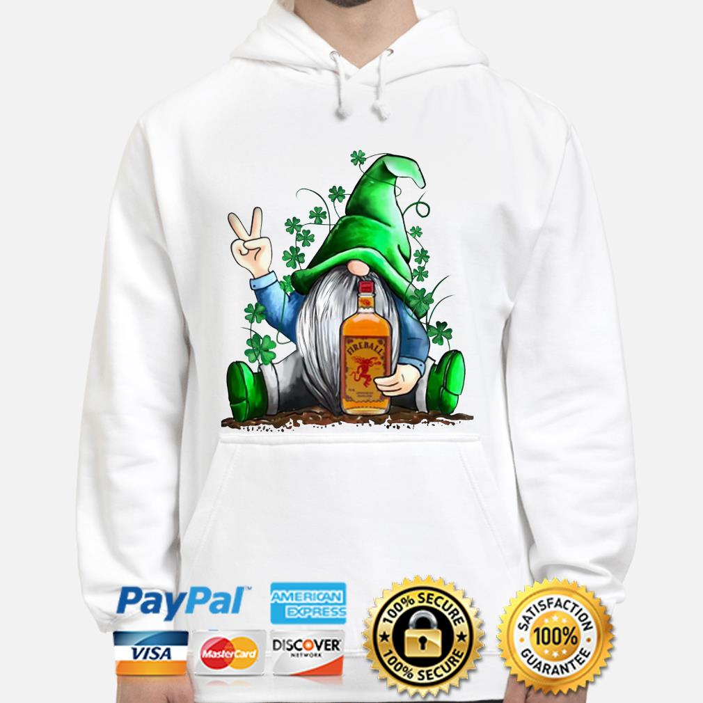 St. Patrick's Day Gnome Hugging Fireball Hoodie