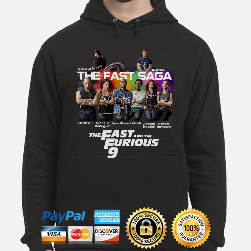 The Fast Saga The Fast and the Furious 9 Hoodie