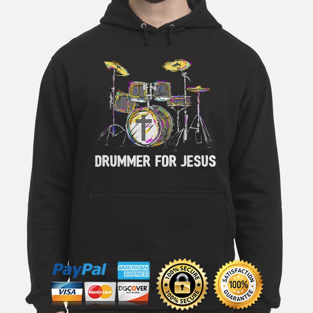 Drummer for Jesus Hoodie