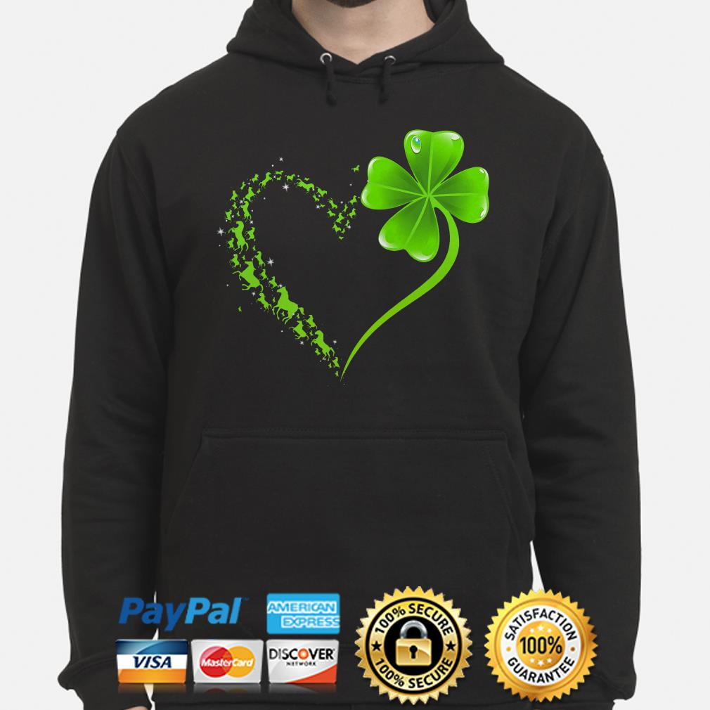 Horses Irish heart St Patrick's day shirt