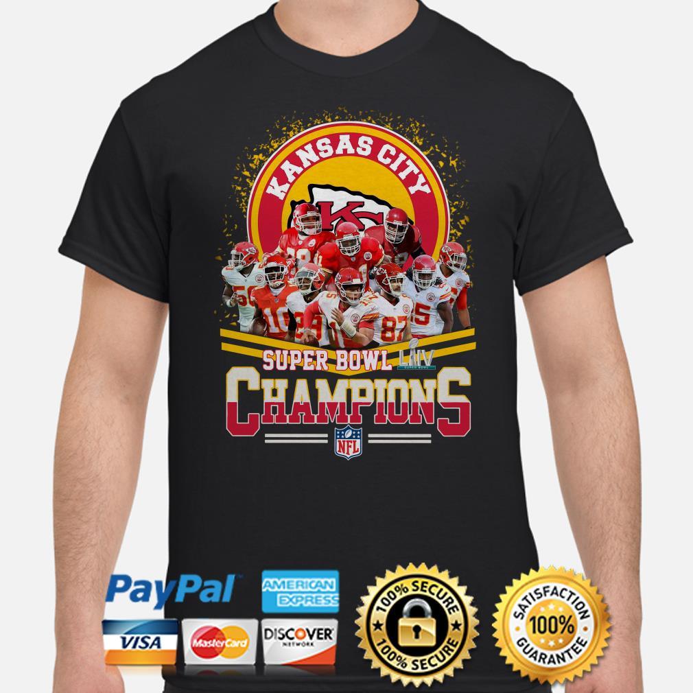 Kansas City Chiefs Super Bowl Liv Champions Shirt
