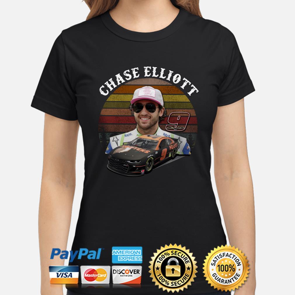9 Chase Elliott vintage Ladies shirt