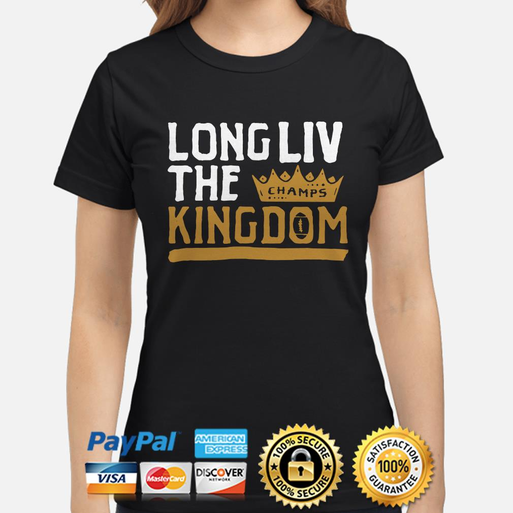 Champs Long Liv The Kingdom Ladies Shirt
