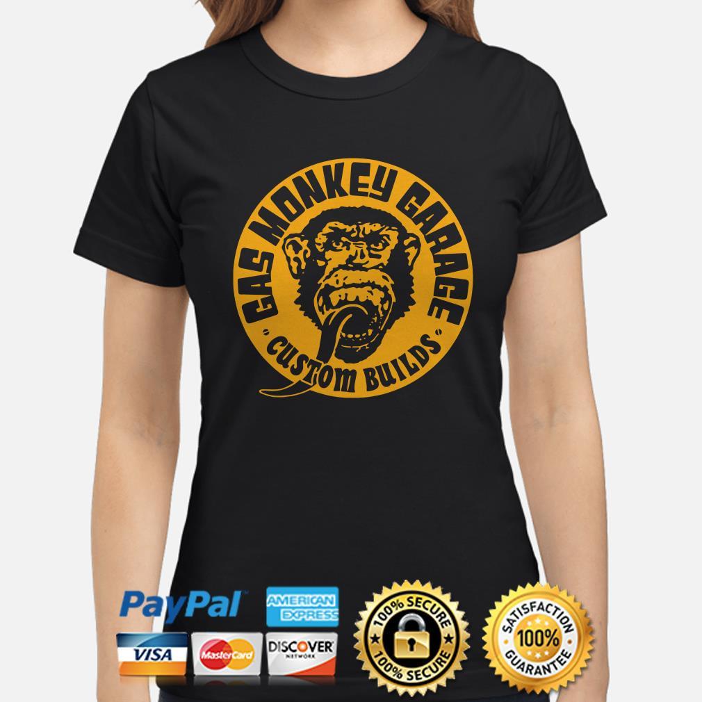 Gas Monkey garage custom builds Ladies shirt