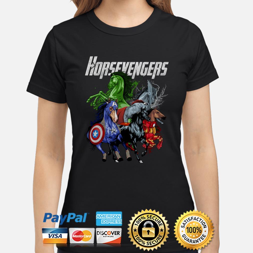 Marvel Avengers Horsevengers Ladies shirt