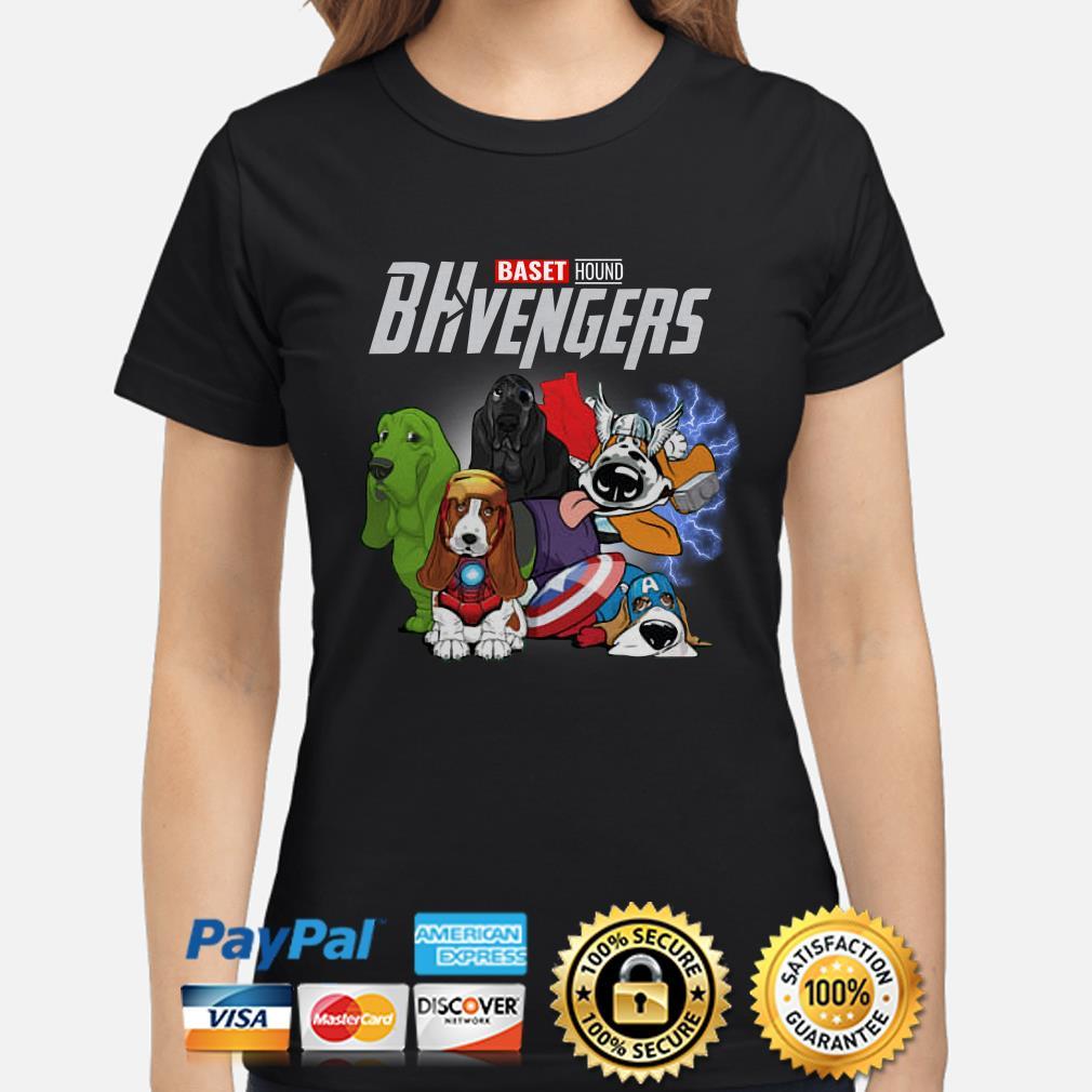 Marvel Avengers Baset Hound BHvengers Ladies Shirt