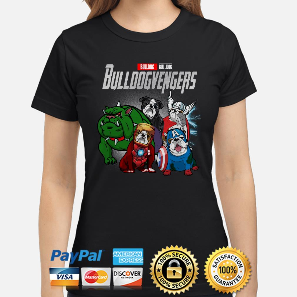 Marvel Avengers Bulldog Bulldogvenger Ladies shirt