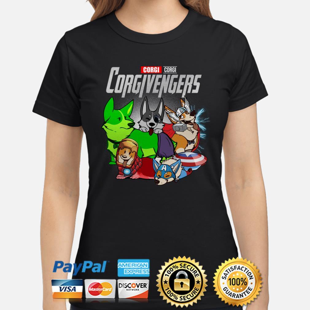 Marvel Avengers Corgivengers Ladies shirt