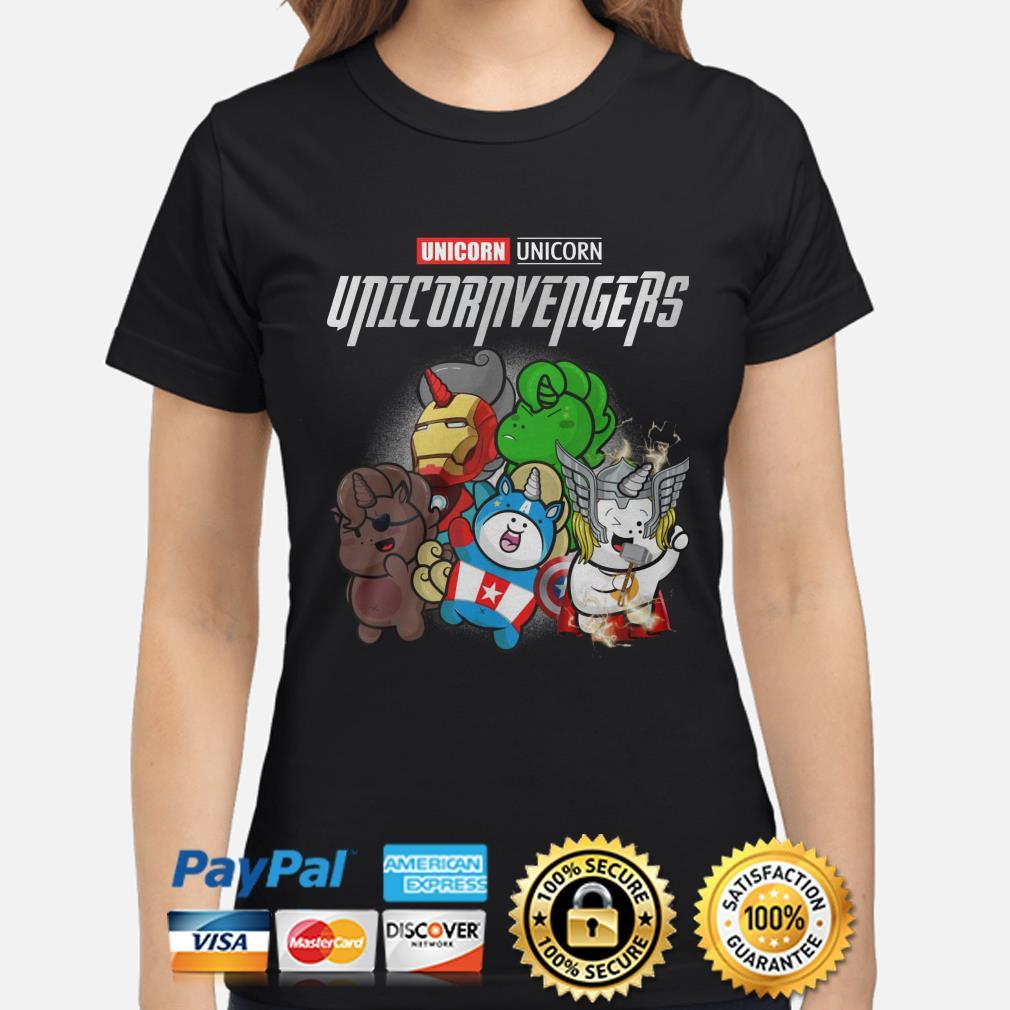 Marvel Avengers Unicorn Unicornvengers Ladies Shirt