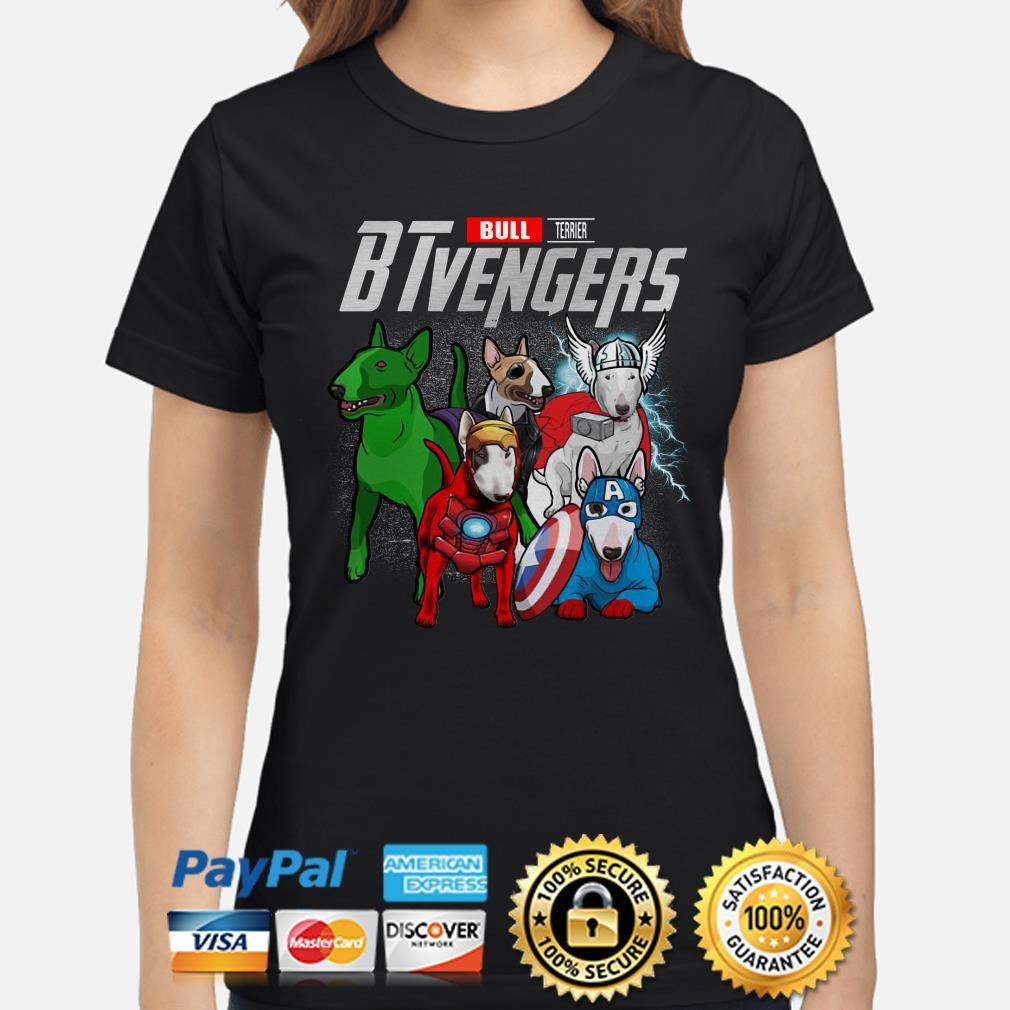 Marvel Bull Terrier BTvengers Ladies shirt