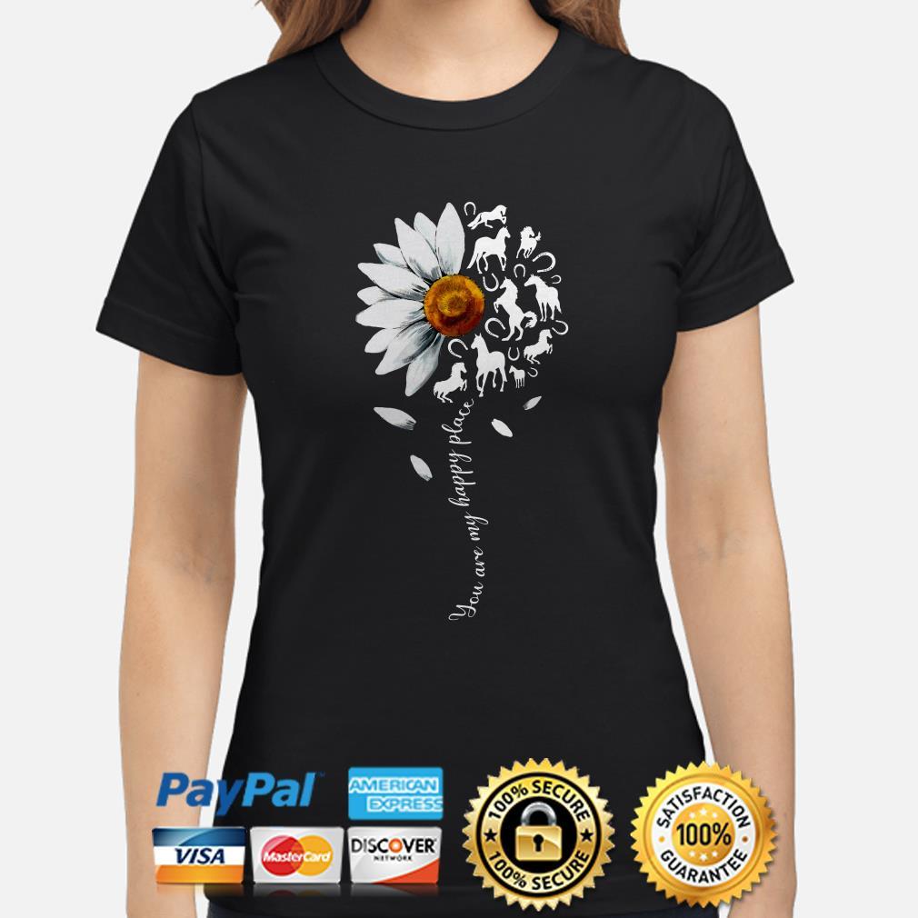 Sunflower Horses you are my sunshine Ladies shirt