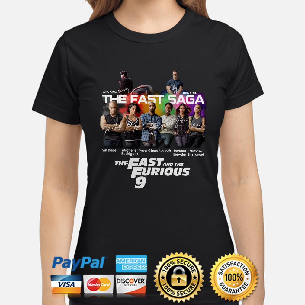 The Fast Saga The Fast and the Furious 9 Ladies shirt