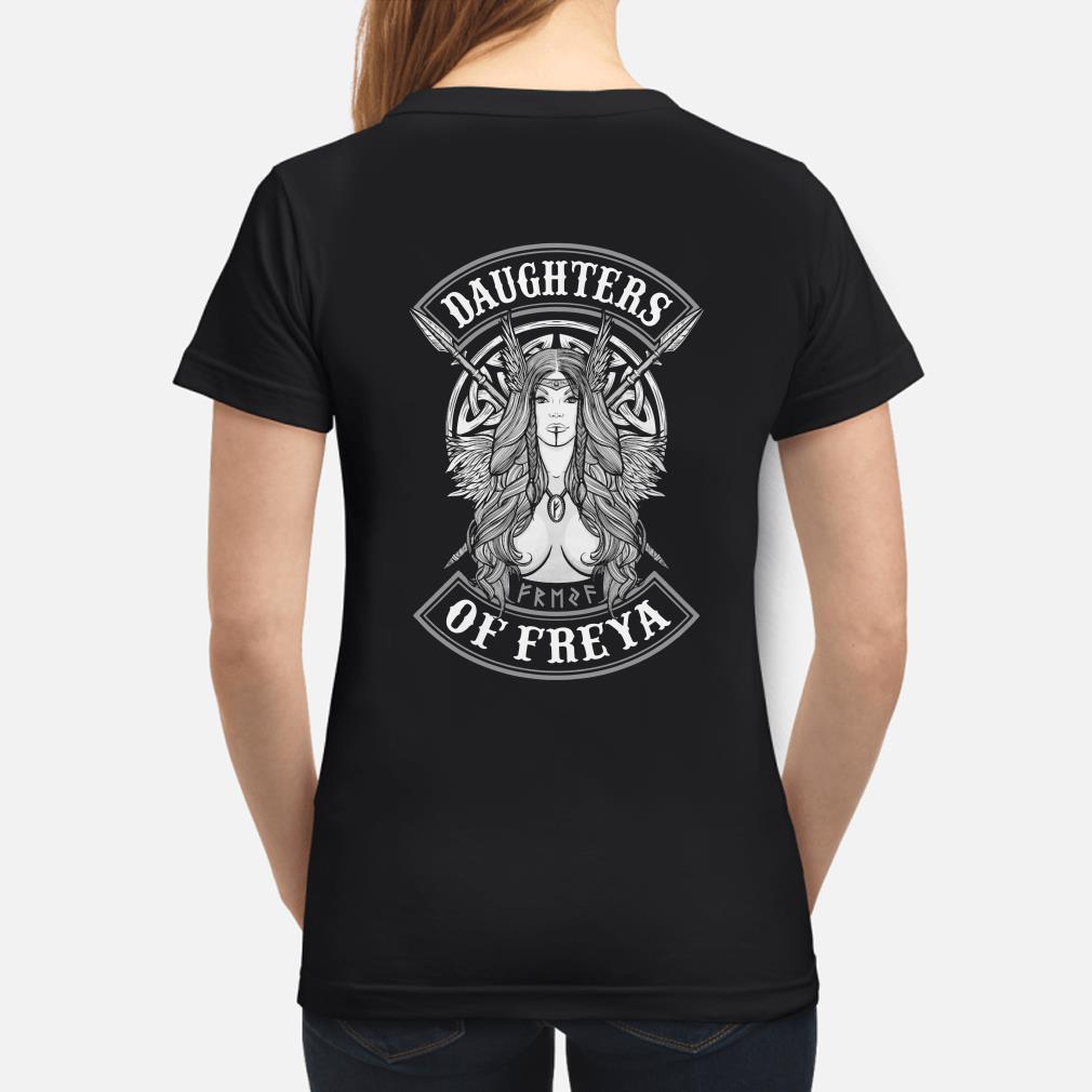 Daughters of Freya Ladies shirt