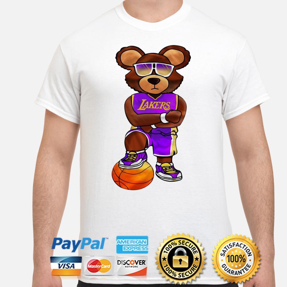 Bear Los Angeles Lakers Shirt