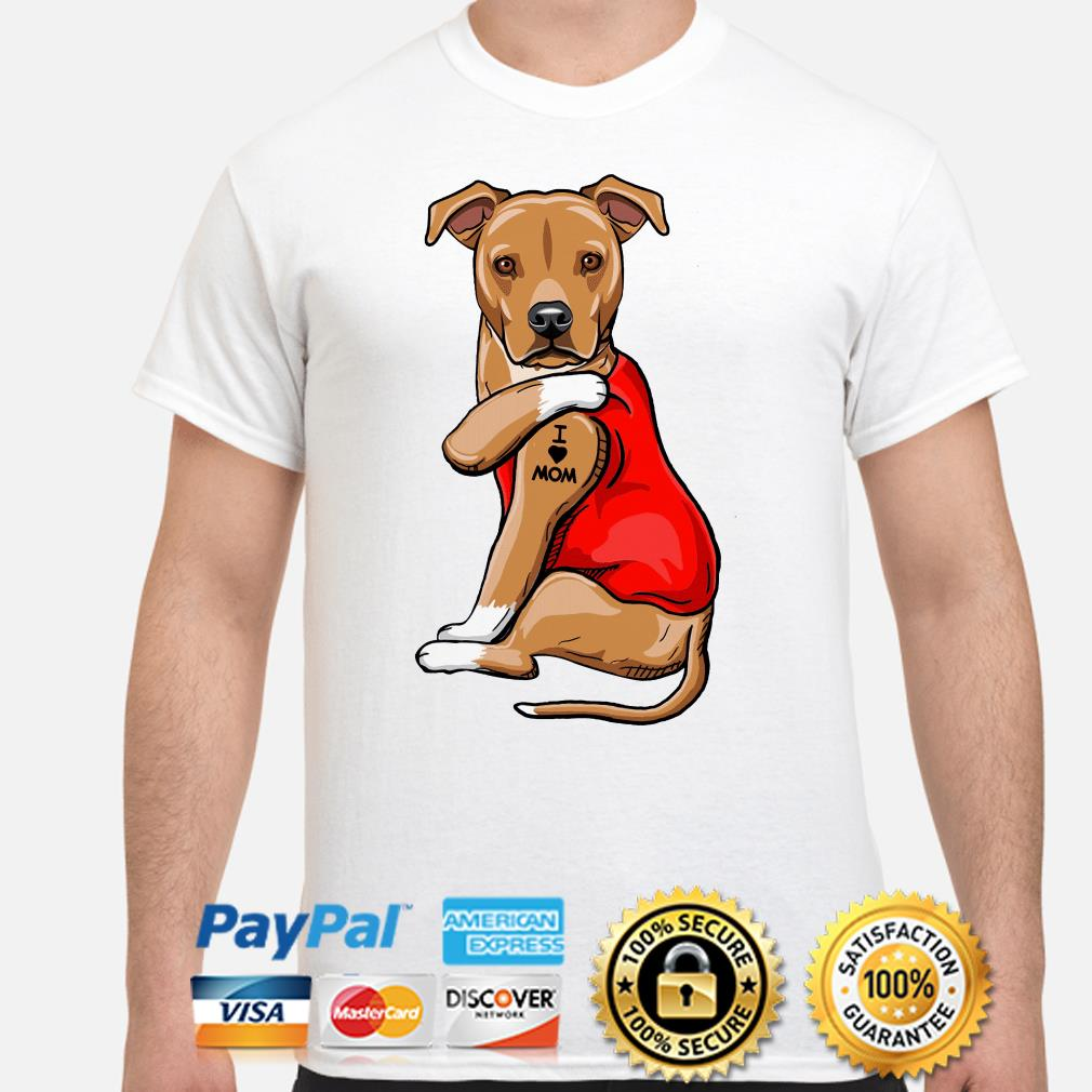 Dog Licks I Love Mom Shirt