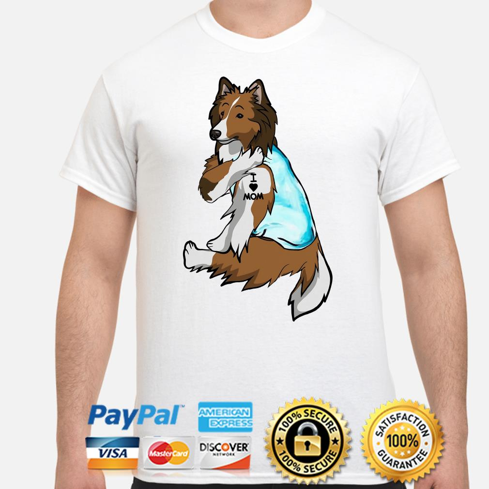 Wolfdog I Love Mom Shirt