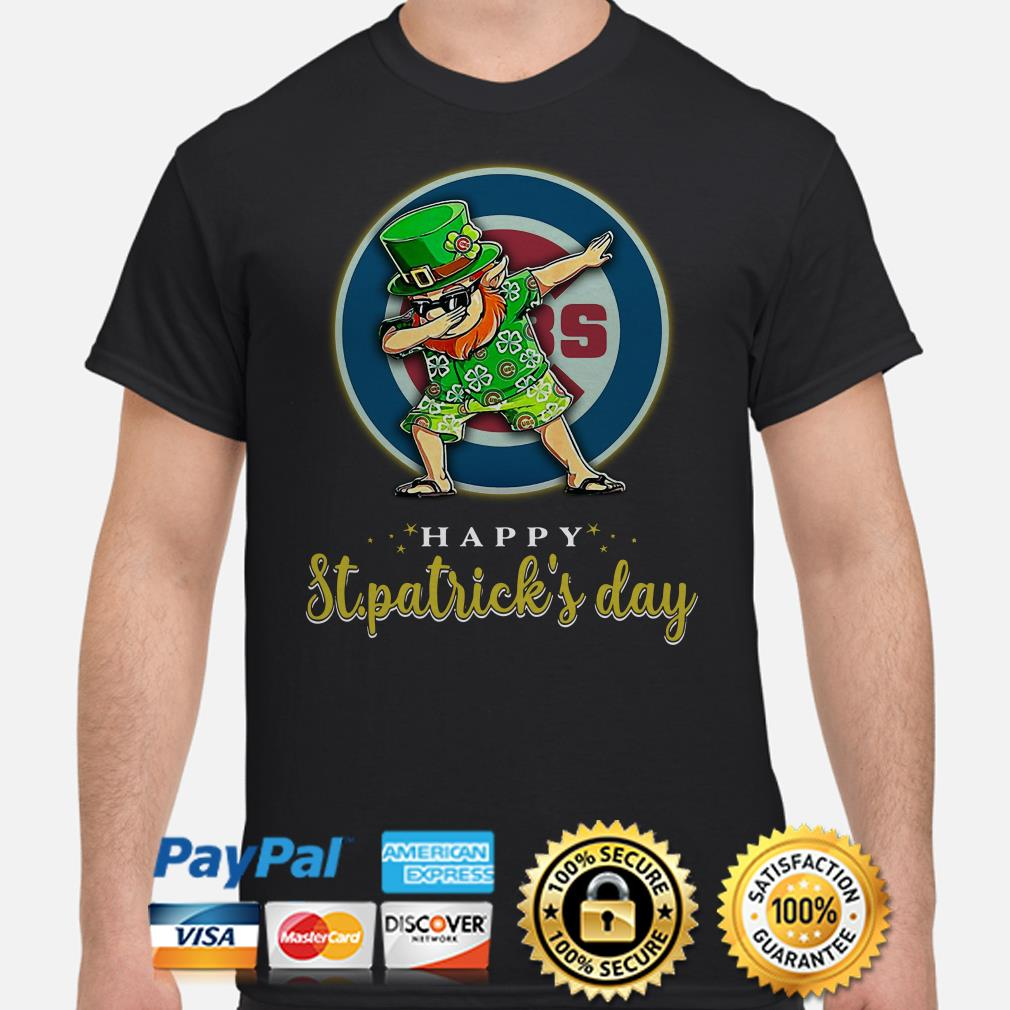 Chicago Cubs Uncle Sam Happy St Patrick's Day Shirt