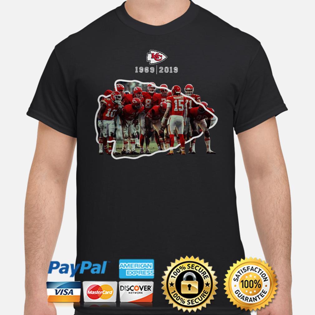 Kansas City Chiefs 1969 2019 Shirt