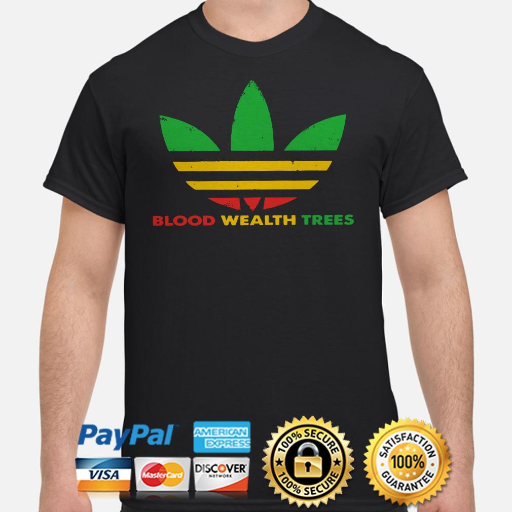 Adidas Blood Wealth Trees Shirt