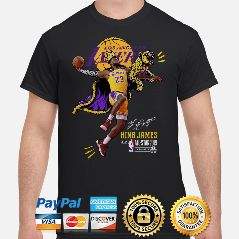 Los Angeles Lakers Lebron James King James All Star 2019 Shirt