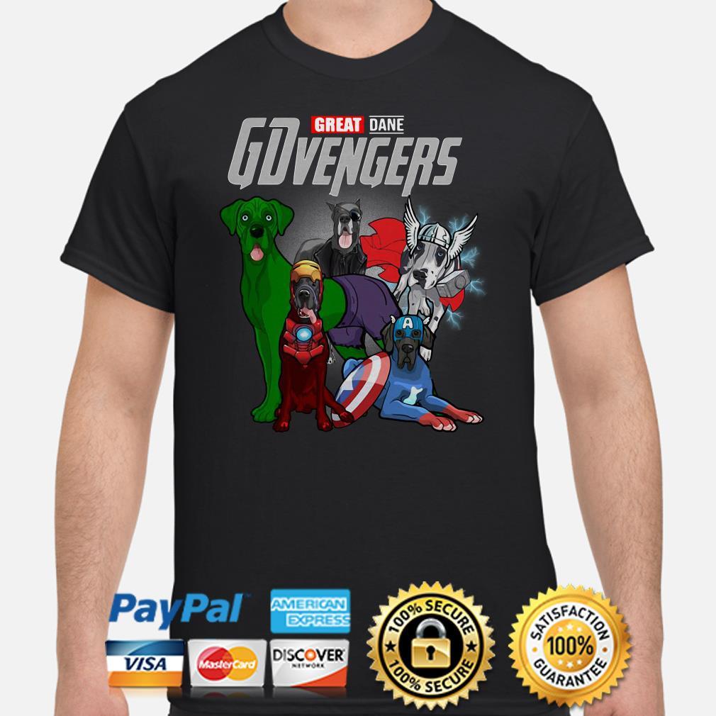 Marvel Avengers Great Dane GDvengers shirt