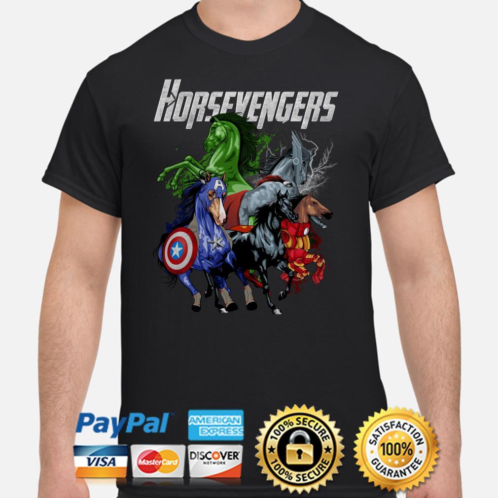 Marvel Avengers Horsevengers shirt