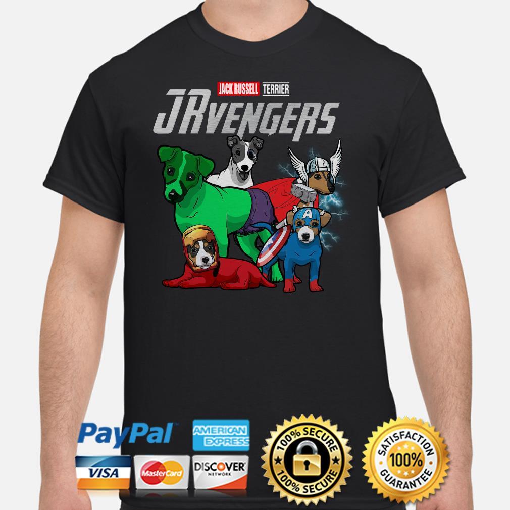 Marvel Avengers Jack Russell Terrier JRvengers shirt