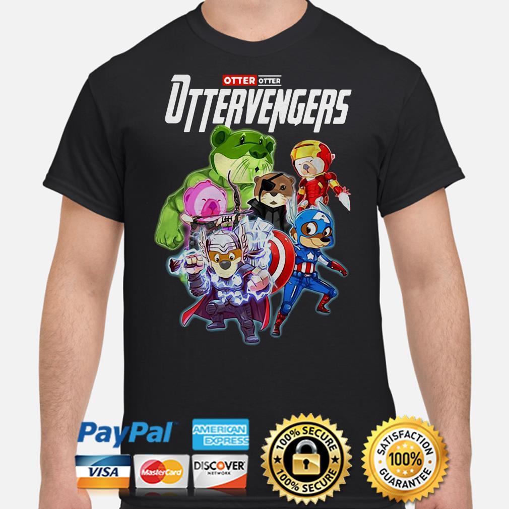 Marvel Avengers Otter Ottervengers shirt