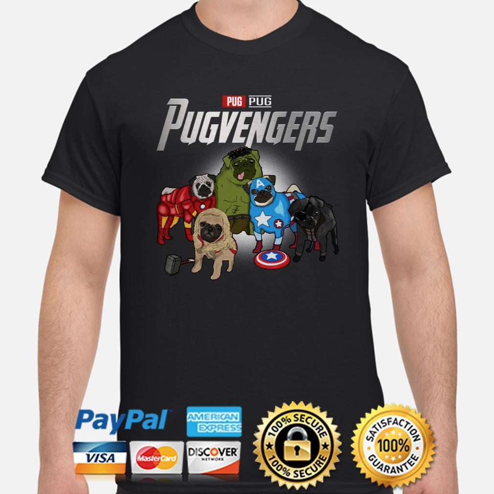 Marvel Avengers Pugs Pugvengers shirt