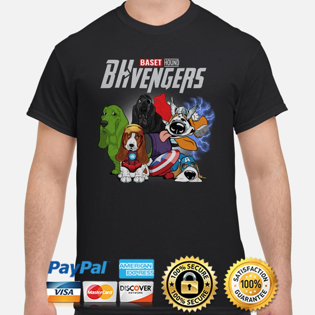 Marvel Avengers Baset Hound BHvengers Shirt