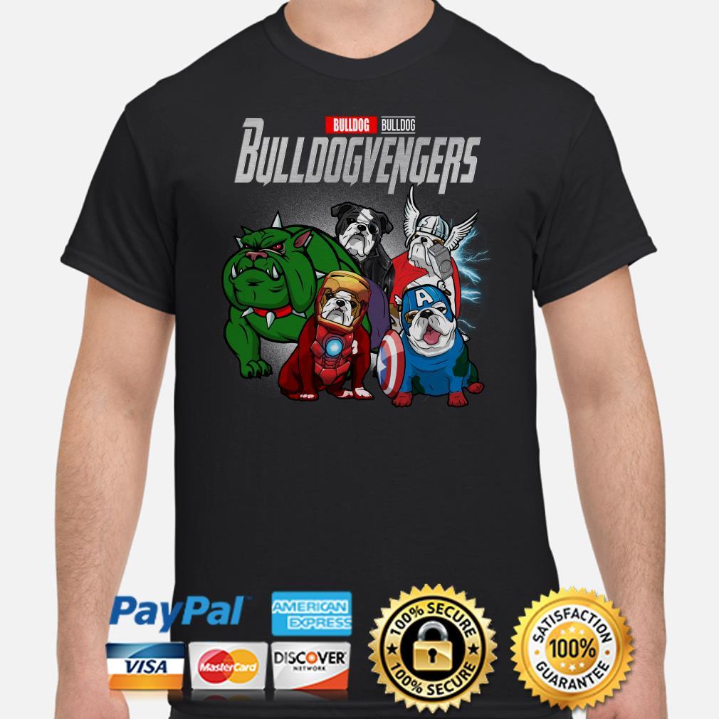 Marvel Avengers Bulldog Bulldogvenger shirt