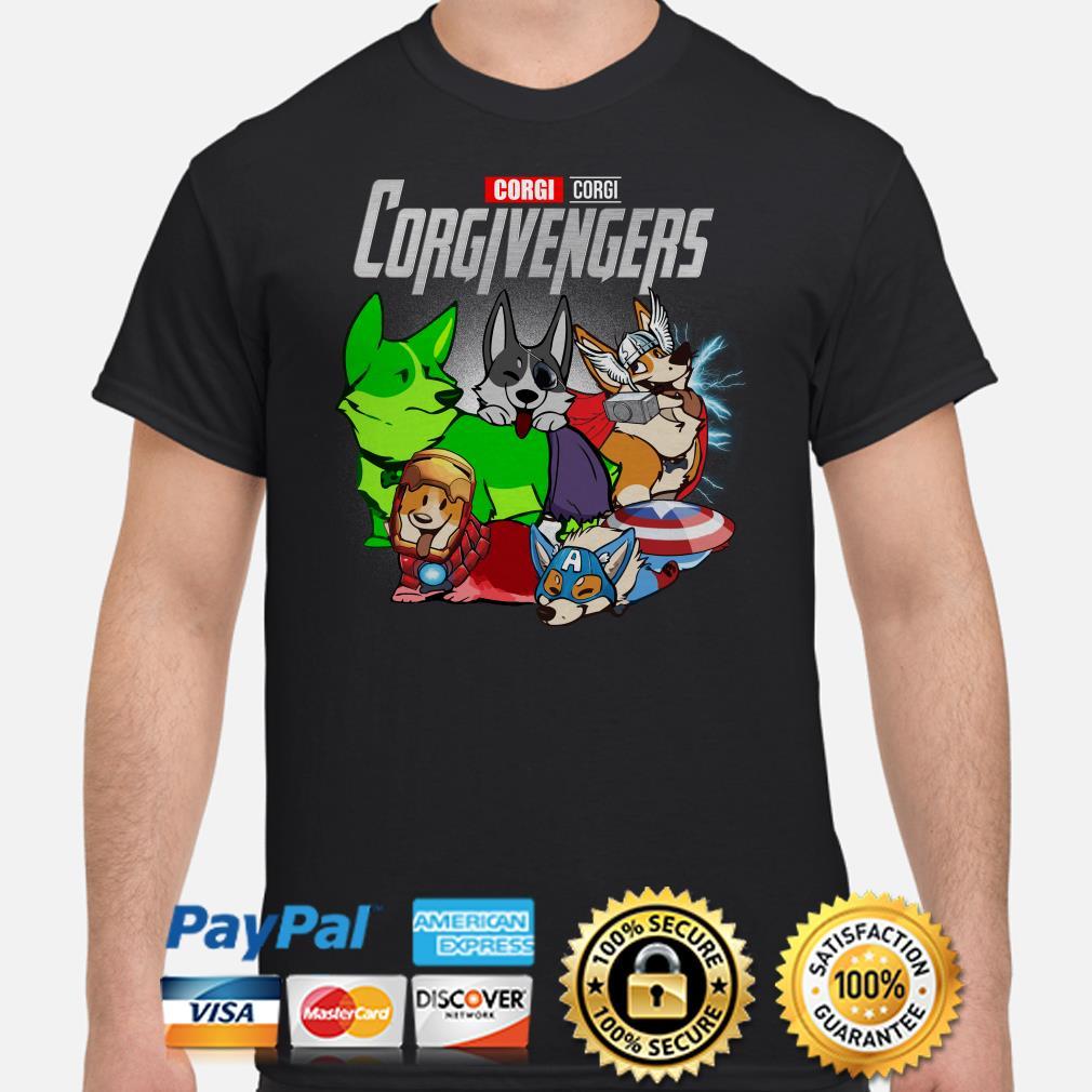 Marvel Avengers Corgivengers shirt