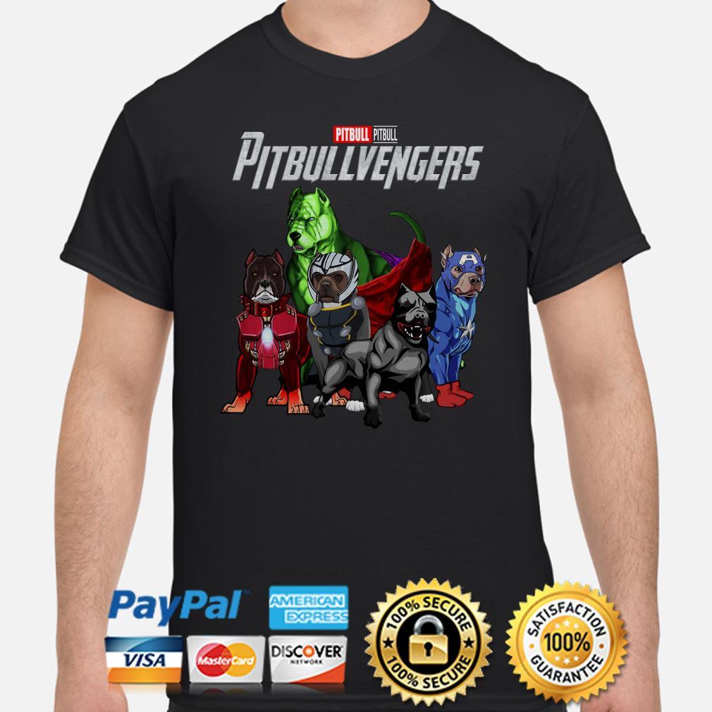 Marvel Avengers Pitbull Pitbullvengers shirt