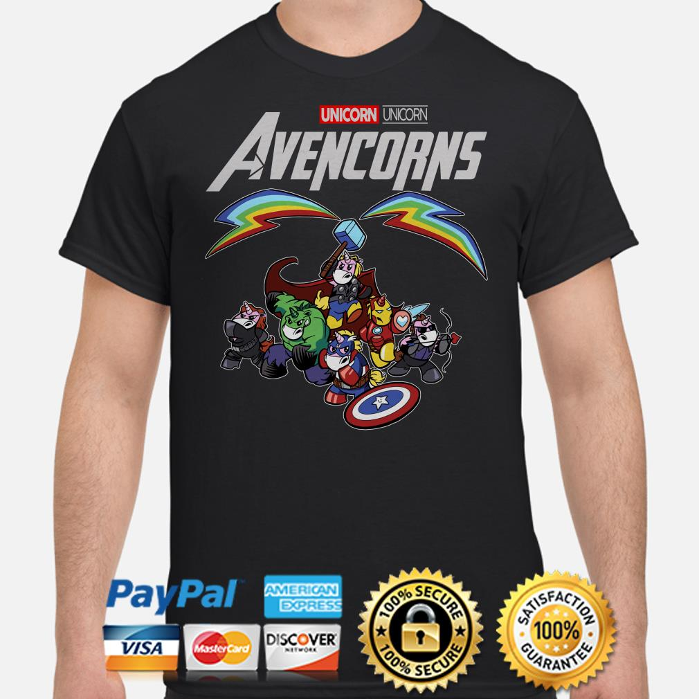 Marvel Avengers Unicorn Avencorns shirt
