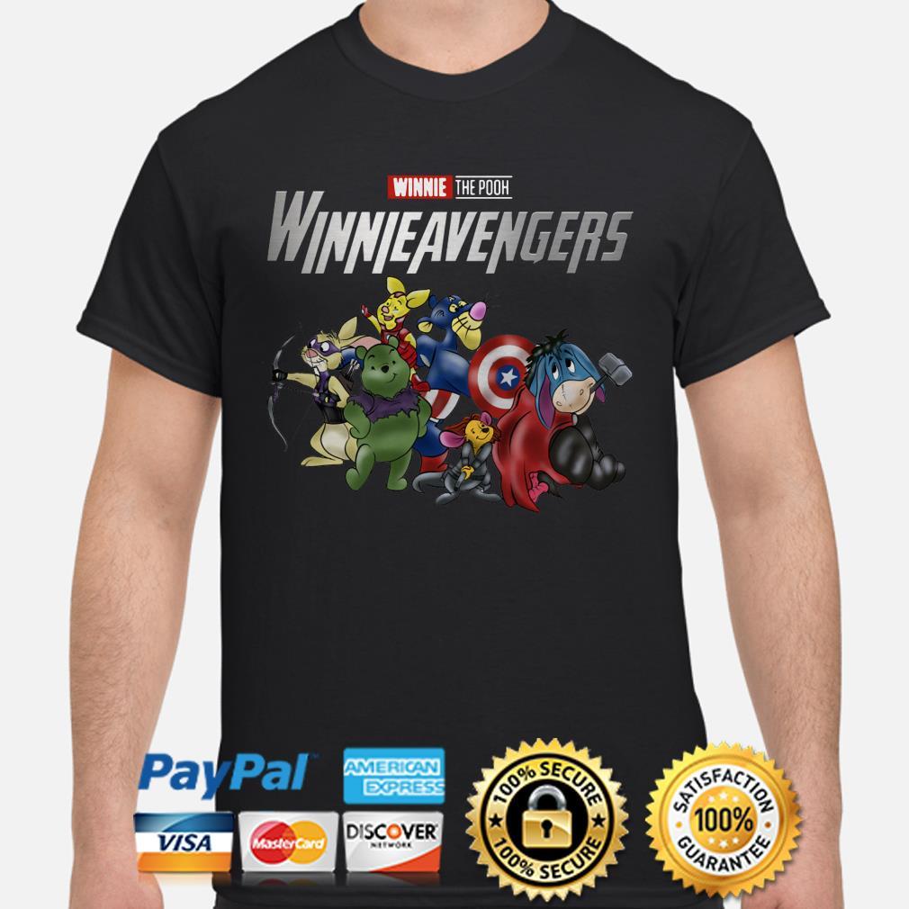 Marvel Avengers Winnie the Pooh WinnieAvengers shirt