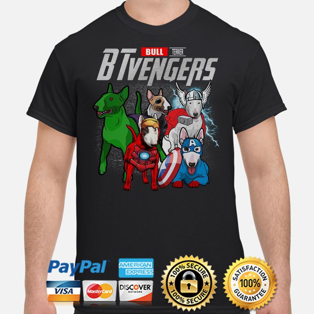 Marvel Bull Terrier BTvengers shirt