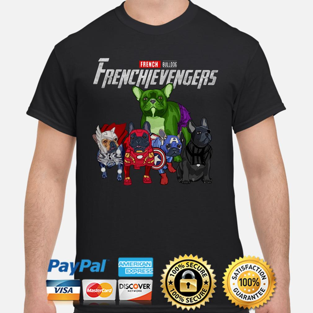 Marvel French Bulldog Frenchievengers shirt