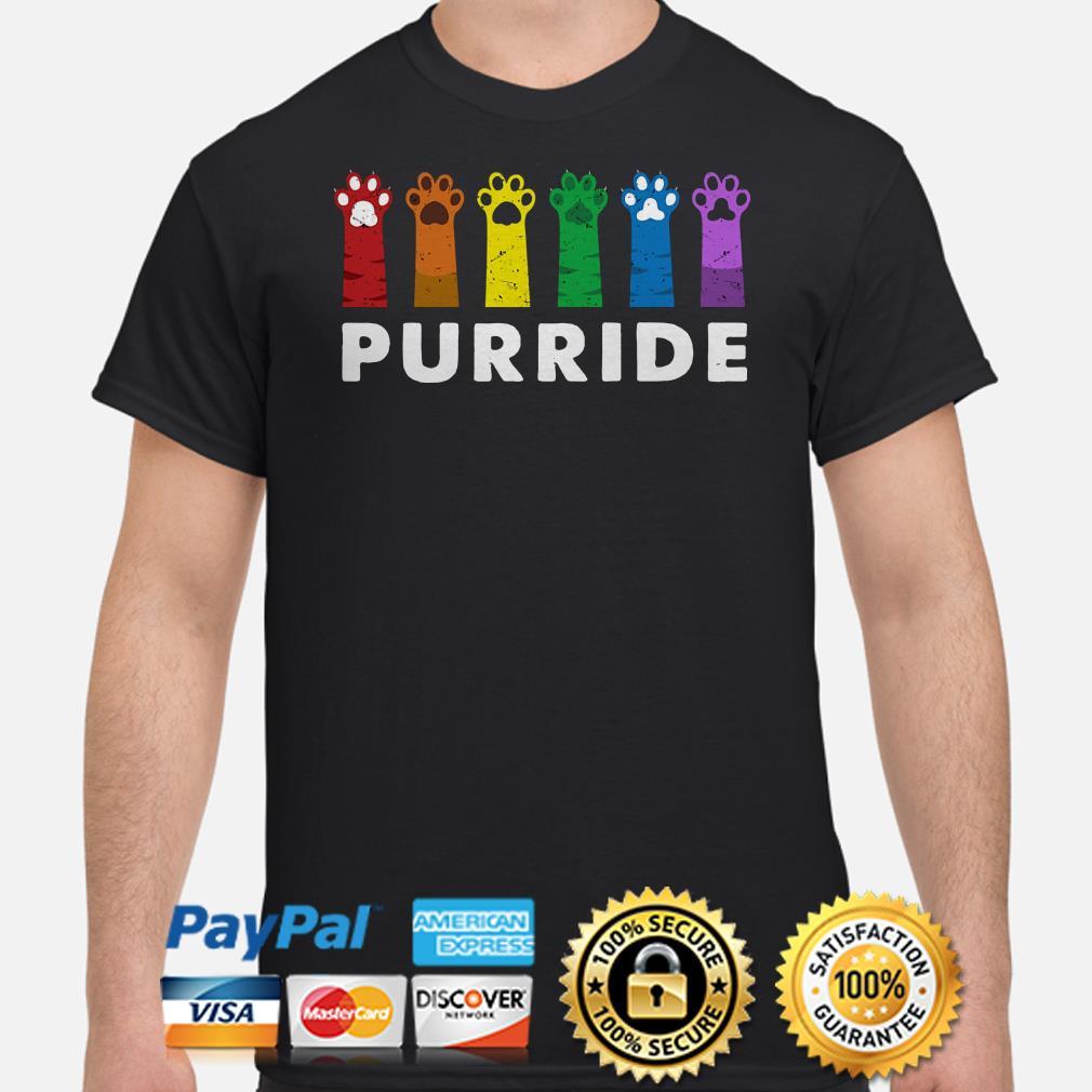 Paws LGBT Purride shirt