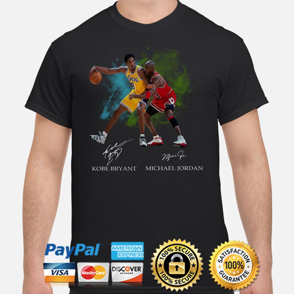 Kobe Bryant and Michael Jordan signature shirt