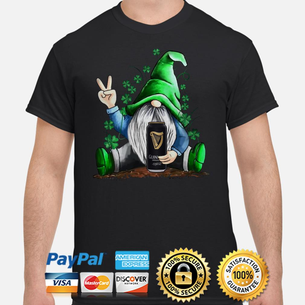Irish Gnome hug Guiness beer St Patricks Day shirt